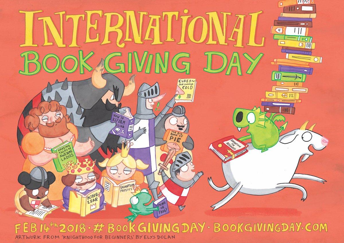📕+🌹+🍫=😘 14กุมภา.ของทุกปี วันแห่งการให้หนังสือสากล #BookGivingDay ให้คนรัก📚ให้คนไม่รู้จักหรือให้เด็กด้อยโอกาส bookgivingday.com ❤️
