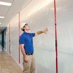 Image for the Tweet beginning: Professional contractors love the ZipWall®