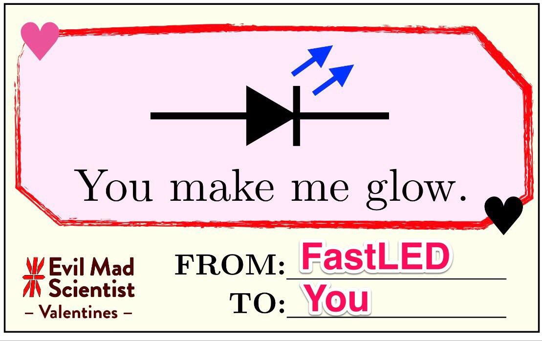 Hashtag #fastled sur Twitter