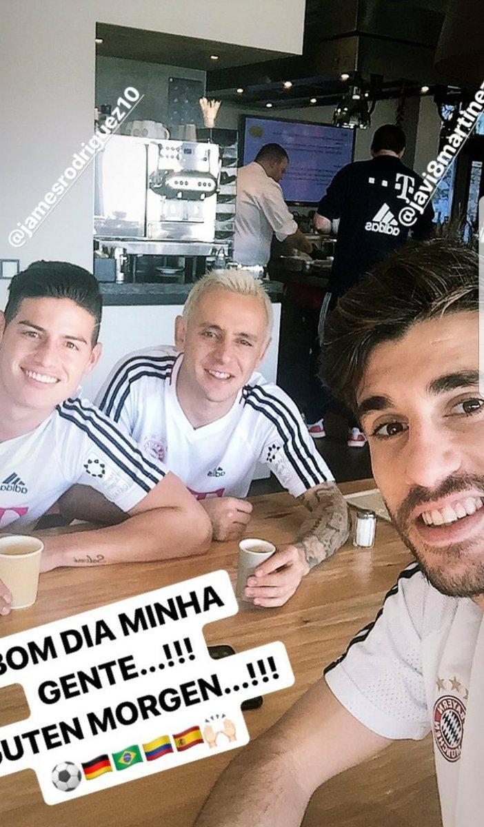 #FCBayern #MiaSanMia @jamesdrodriguez @J...