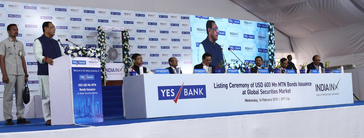 IFS headquarters of YES Bank opens at GIFT City Gandhinagar