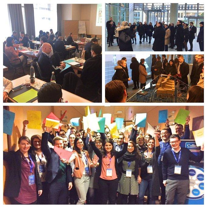 Die neuen Kolleginnen und Kollegen aus allen Standorten kamen in Frankfurt zusammen und lernten einander und die Welt von Colliers International kennen. #Karriere bei Colliers: t.co/Yy7BAhSOax t.co/gRCJSZaABo
