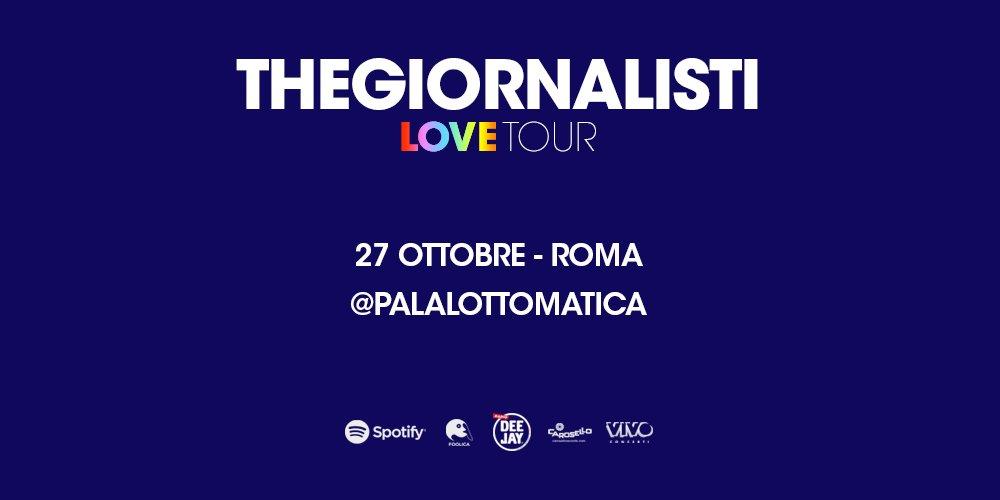 @Thegiornalistial al @Plottomatica il 27 ottobre! #TommasoParadiso #7febbraio #Sanremo2018