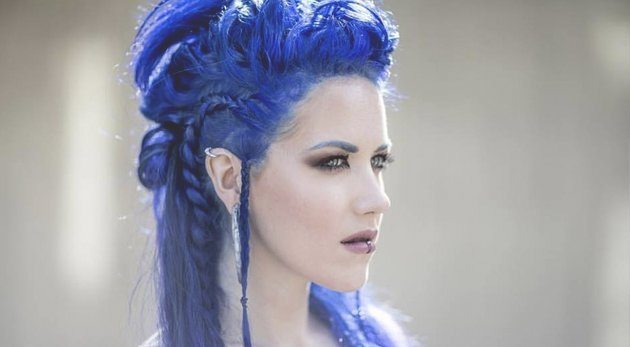 "Alissa White Gluz On Twitter Congratulations To: El Cuartel Del Metal On Twitter: ""Alissa White-Gluz Sobre"