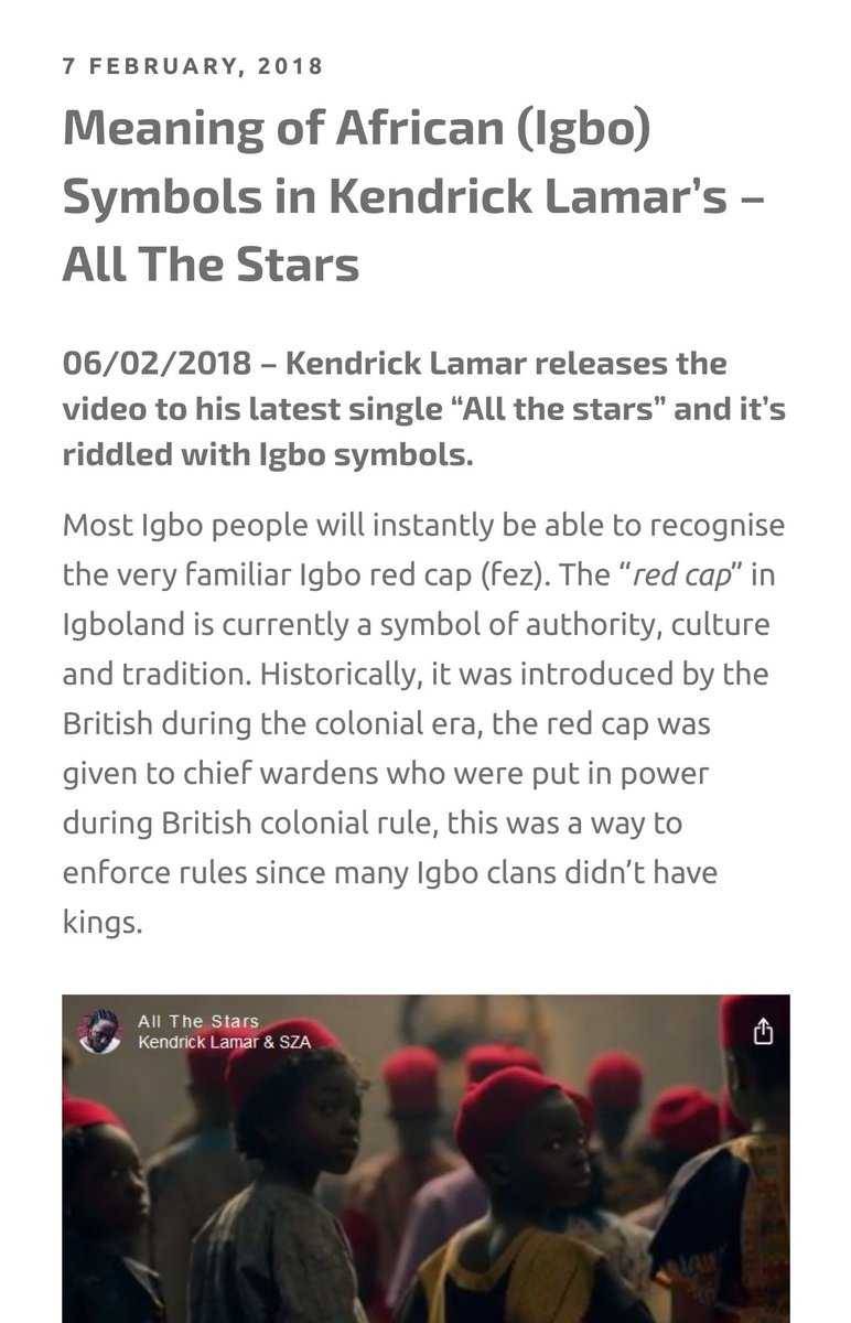Okwuid On Twitter Did You Notice The Igbo Symbolism In