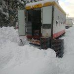 まさに神対応!豪雪地域で立ち往生の車にヤマザキパンが自社製品開放!