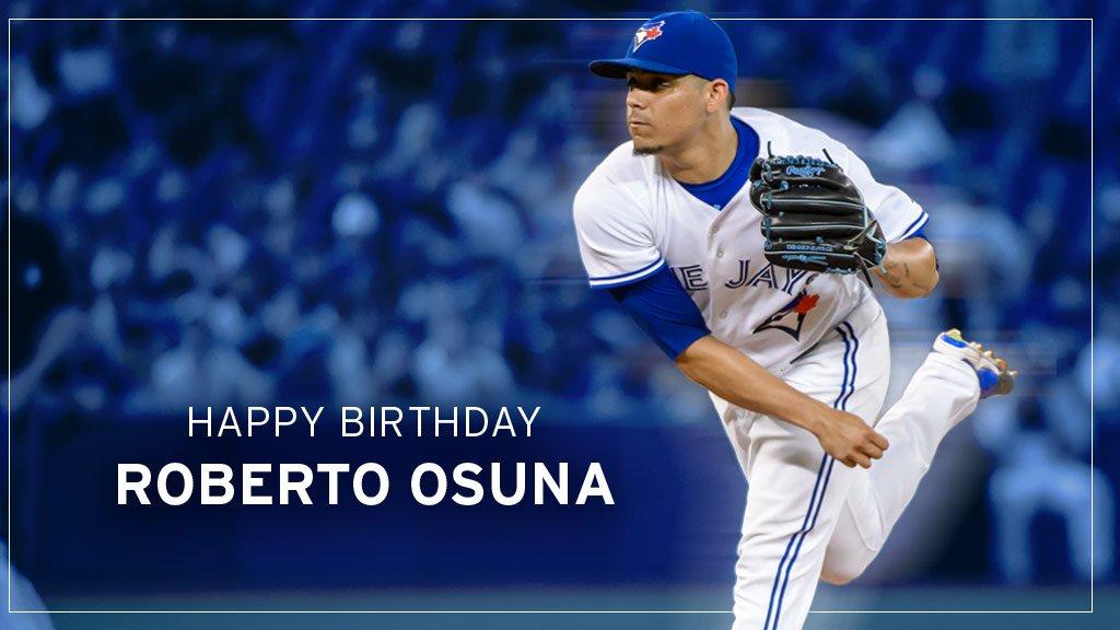 🎉Feliz Cumpleaños, @RobertoOsuna1! 🎂 RT to wish our All-Star closer an amazing 23rd birthday!