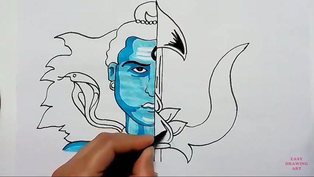 Easy Drawing Art On Twitter Https T Co Kpbseabyyj