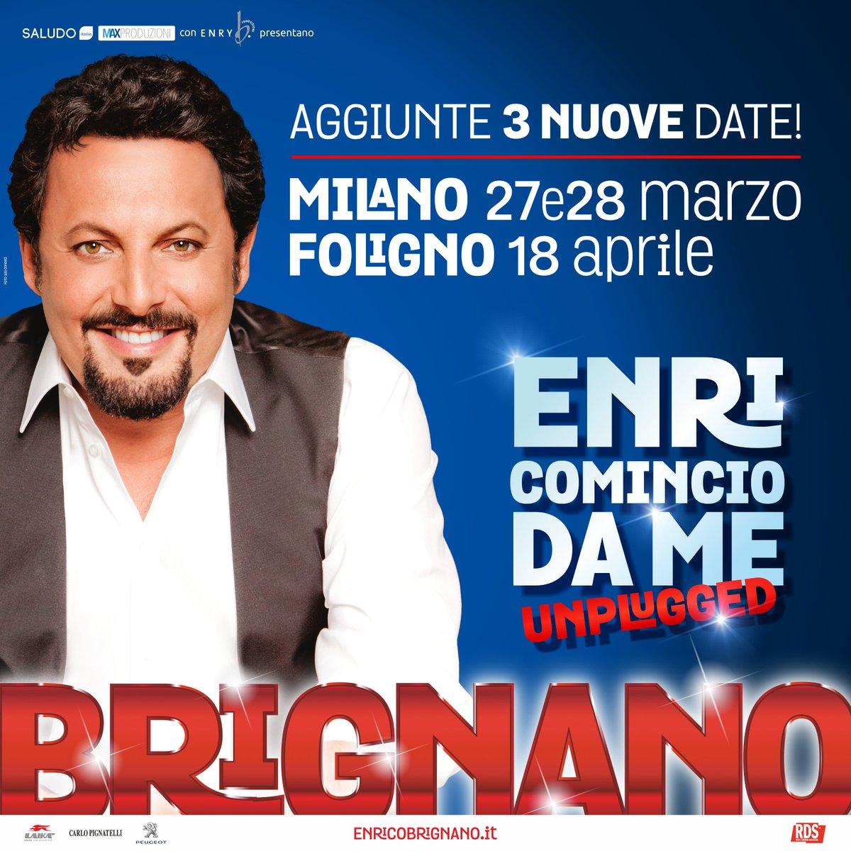 ! Nuove date per Milano e Foligno !  Info biglietti tour 2018 qui => https://t.co/7cAOt86qU8 https://t.co/gklsJqjaVp