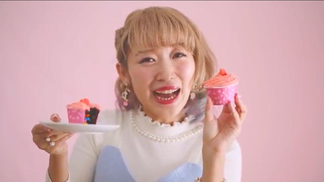カップケーキとくまみき