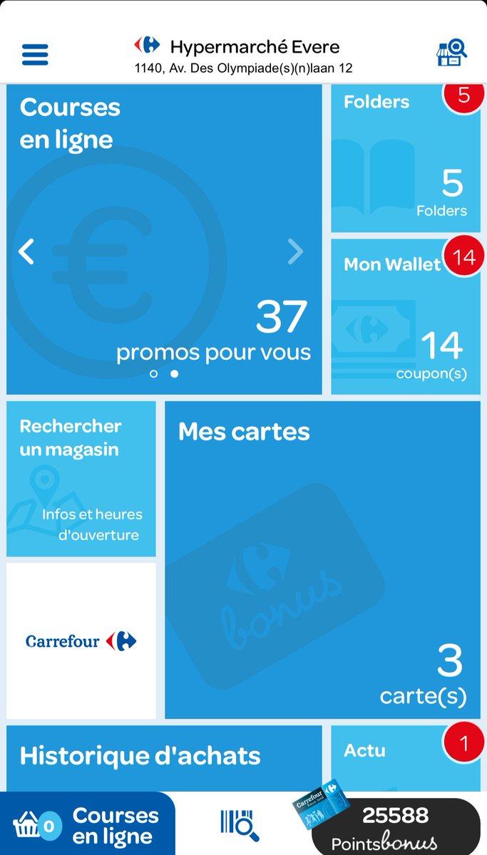 Carte Carrefour Application.Carrefour Be News On Twitter Nouveau Application