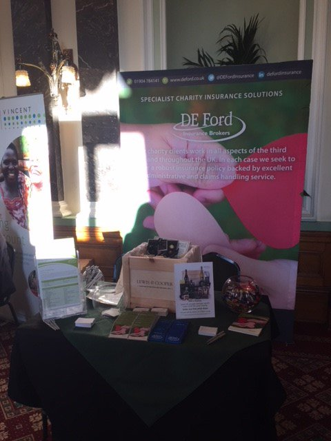 All Set Up Cfgbham18 Come And Say Hello To Rachel Lavinia Don T Forget Enter Our Prize Draw Attend Lunchtime Session On Cyber Crime
