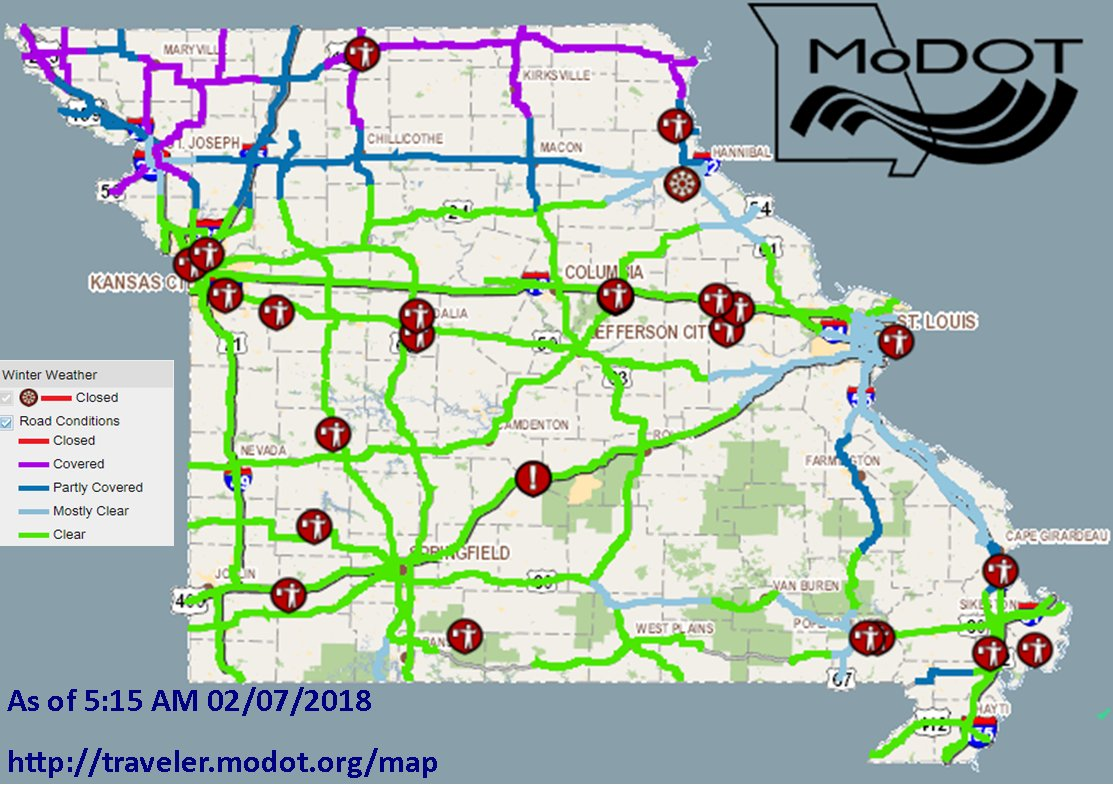 modot southwest (modotsouthwest)  twitter - check httptravelermodotorgmap or call our customer service hotline ataskmodot () for the latest information before you