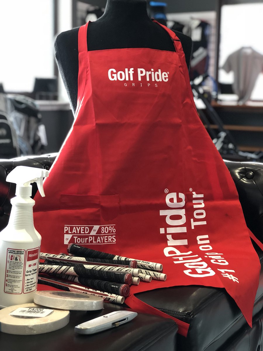 Kemnay Pro Shop On Twitter All Prepared For A Set Of Regrips Wide Overall Pinny Selection Golfpridegrips Available In Store Kemnayproshop Newgrips