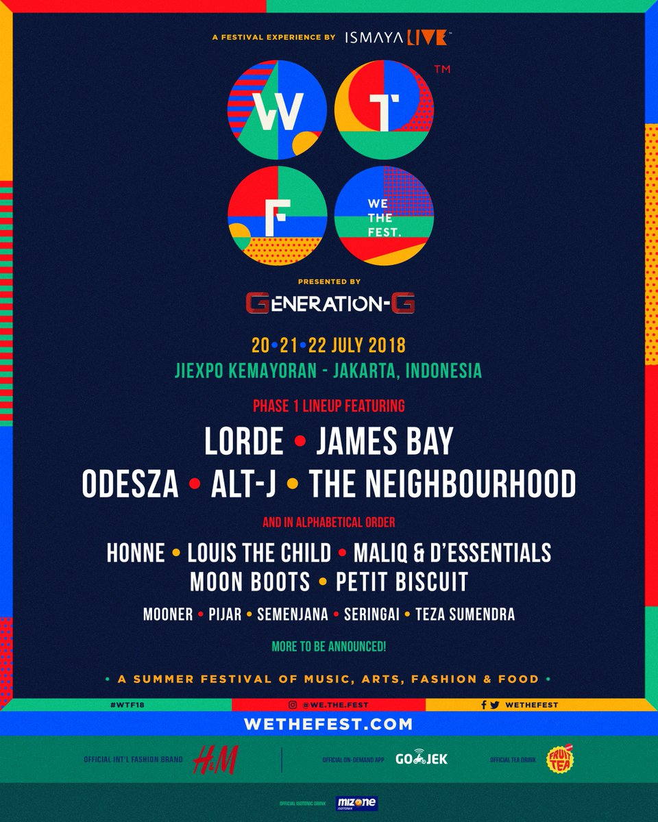 Image result for we the fest festival 2018 tickets