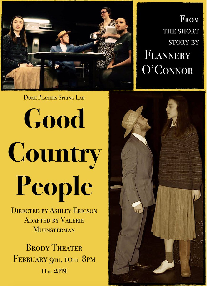 flannery o connors good country people
