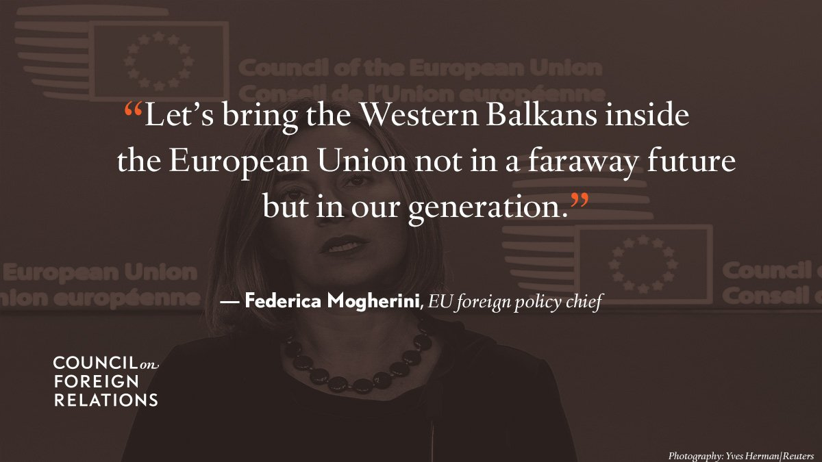 #Quote of the day from EU foreign policy chief Federica Mogherini: