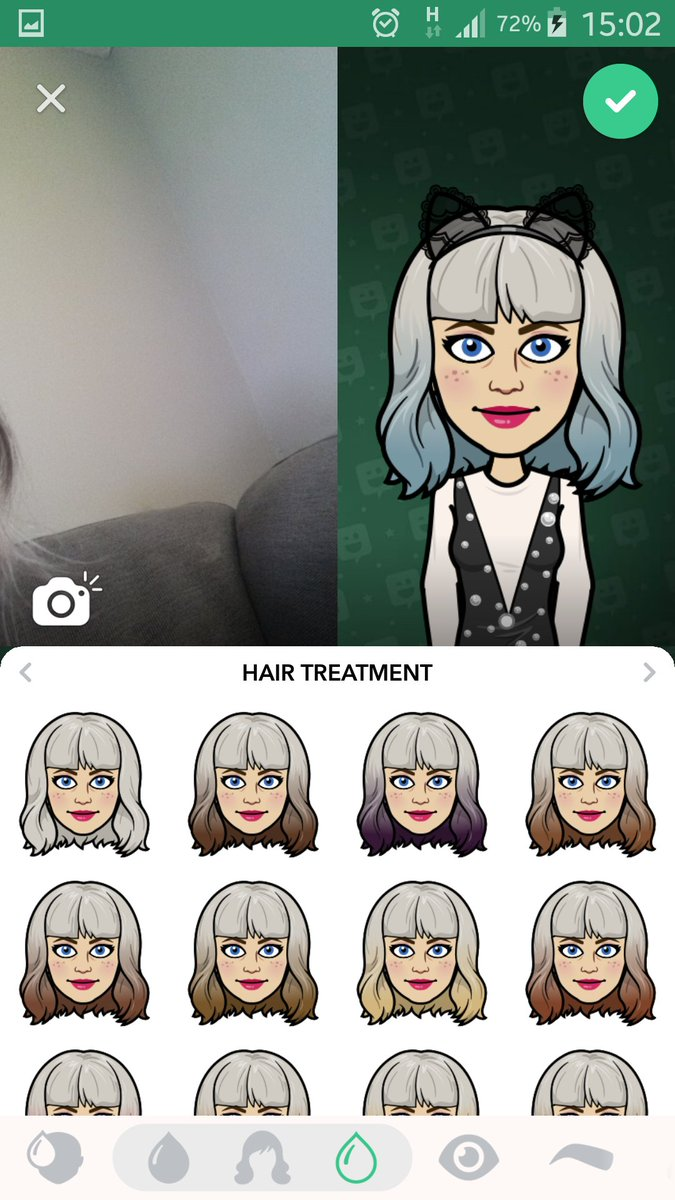 On Bitmoji How To Get Ombre Hair Faster