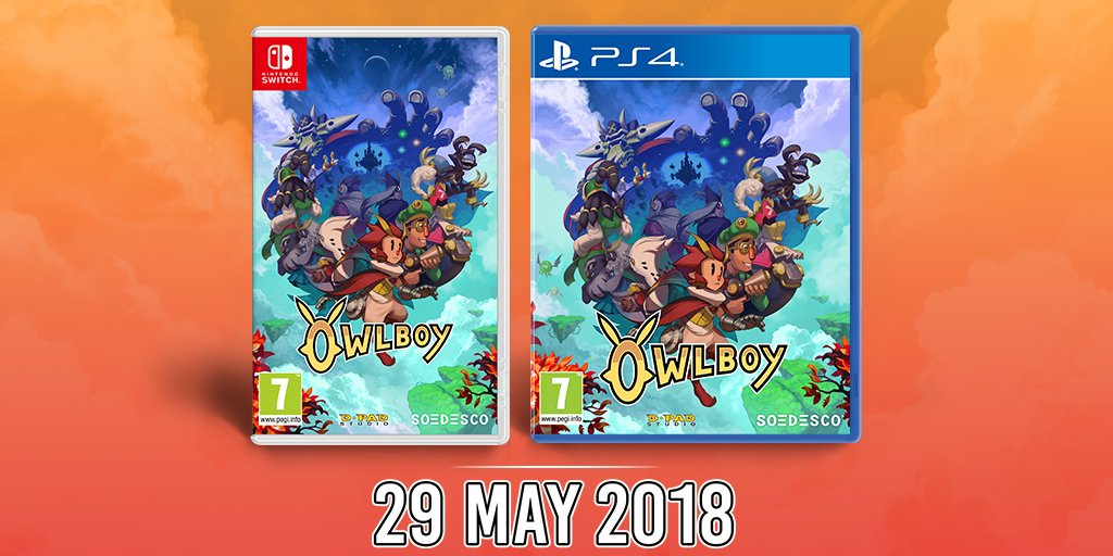 Owlboy Boxed Version Confirmed