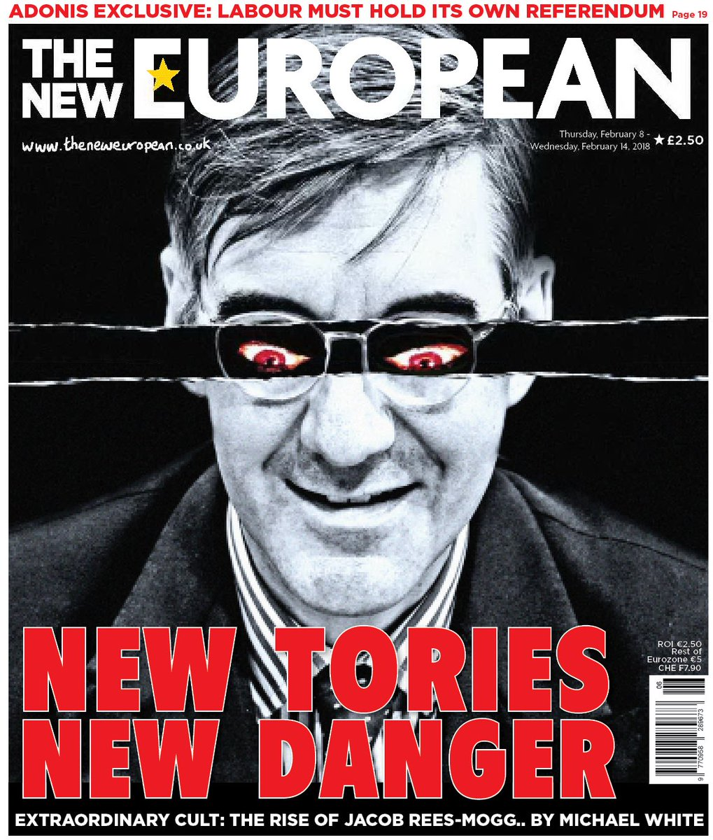 """The New European on Twitter: """"New Tories, New Danger. This week's ..."""