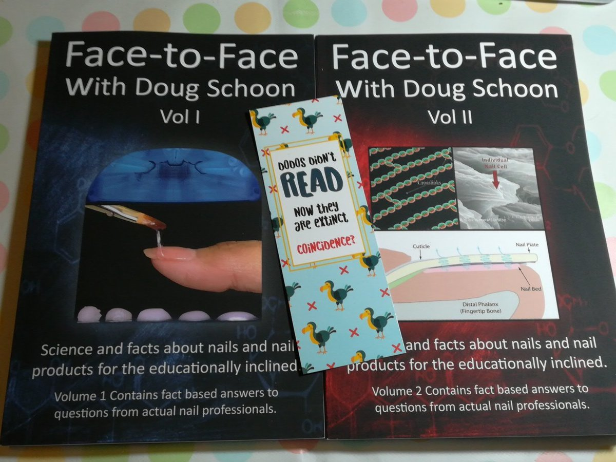 face to face with doug schoon volume ii science and facts about nails nail products for the educationally inclined