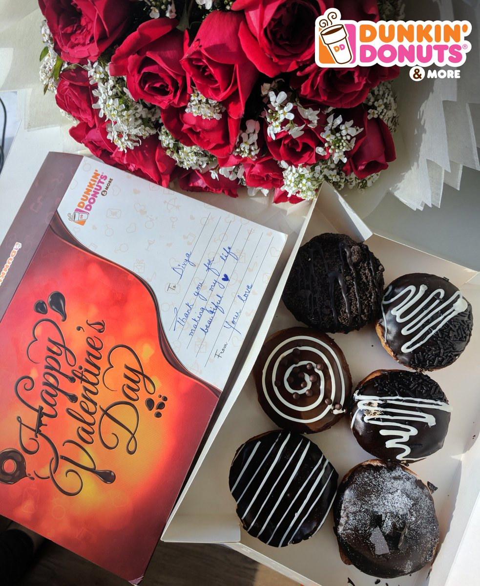 Dunkin Donuts On Twitter Its Rose Day Flowers Do Come And Go