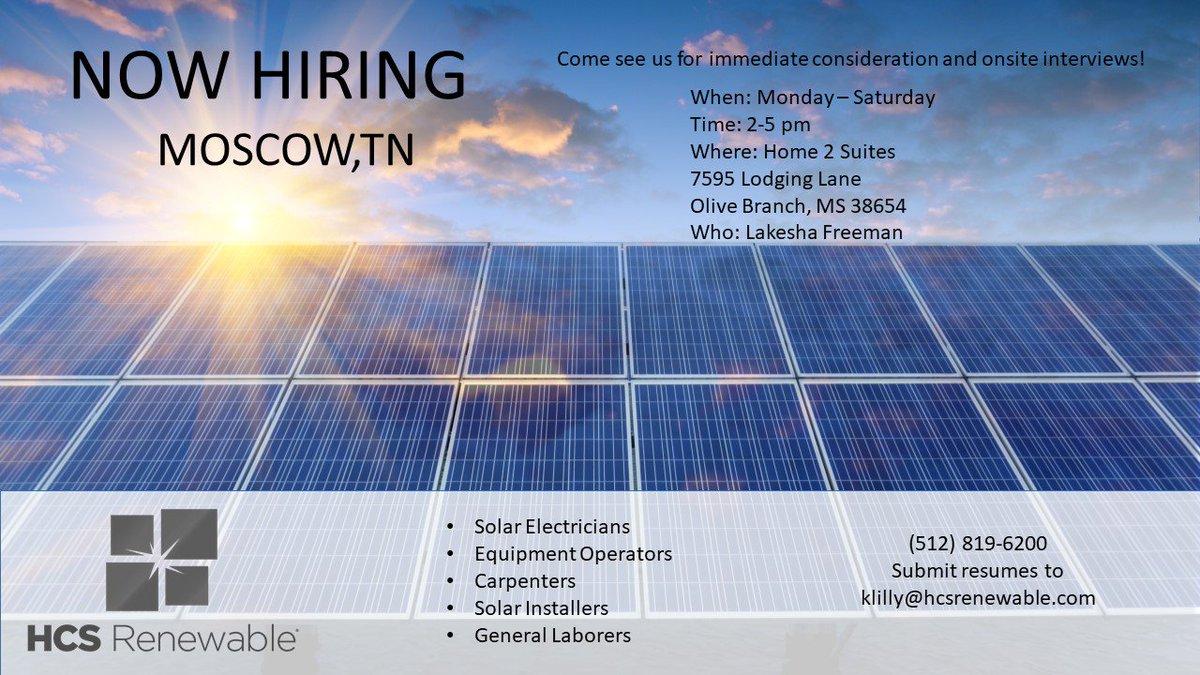 HCS Renewable Energy on Twitter: