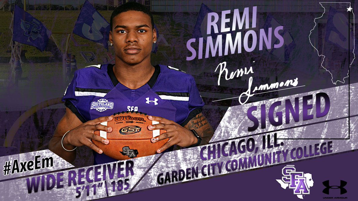 Lumberjack Football On Twitter We Welcome Remi Simmons To The