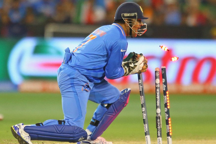 .@msdhoni becomes the first Indian wicke...