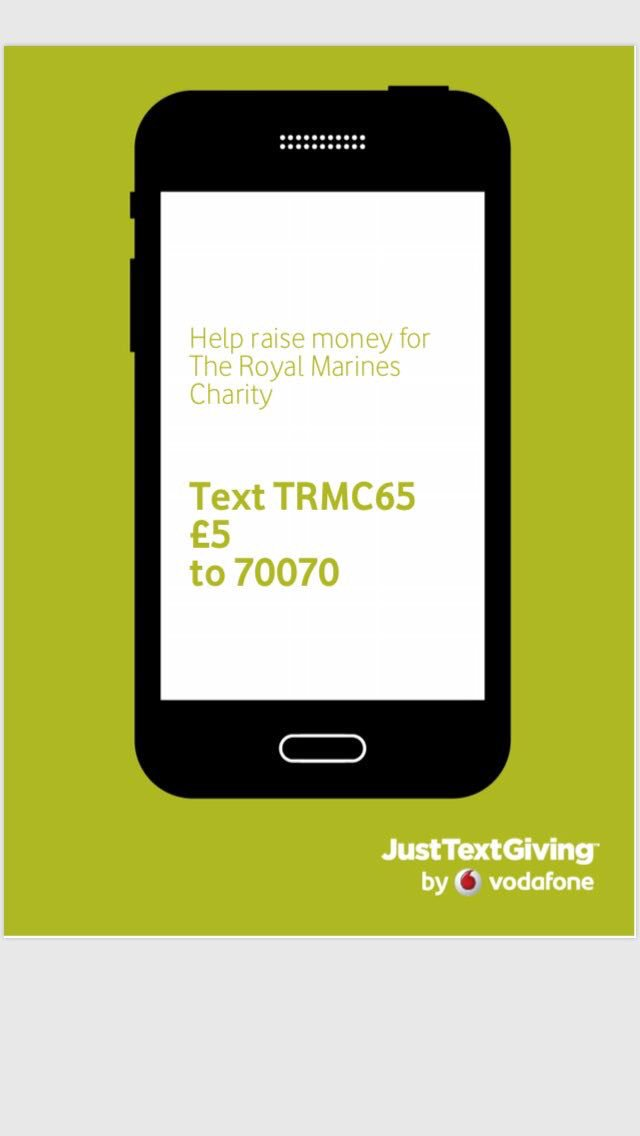 Royalmarines on feedyeti please donate if you can to this number im taking part in a malvernweather Gallery