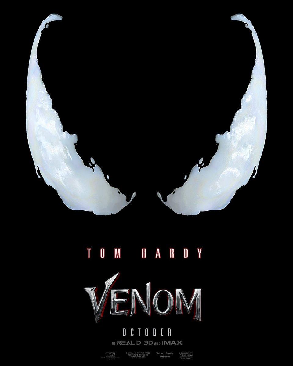 Something is coming tomorrow #Venom
