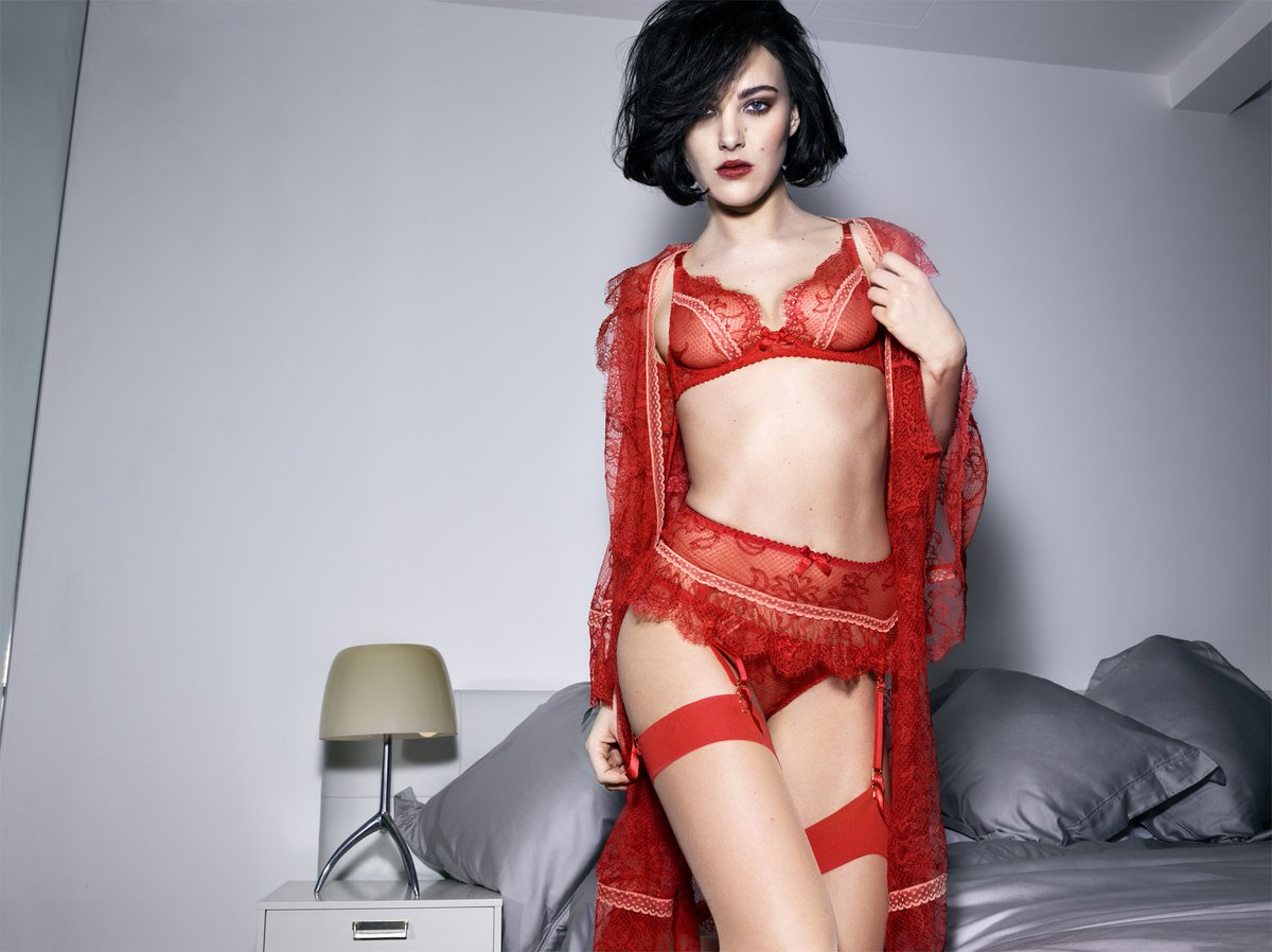 red hot lingerie