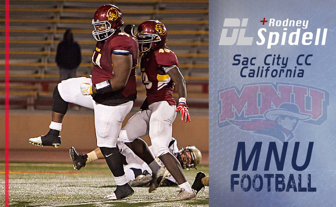 """mnu football on twitter: """"welcome to the pioneer family!rodney"""