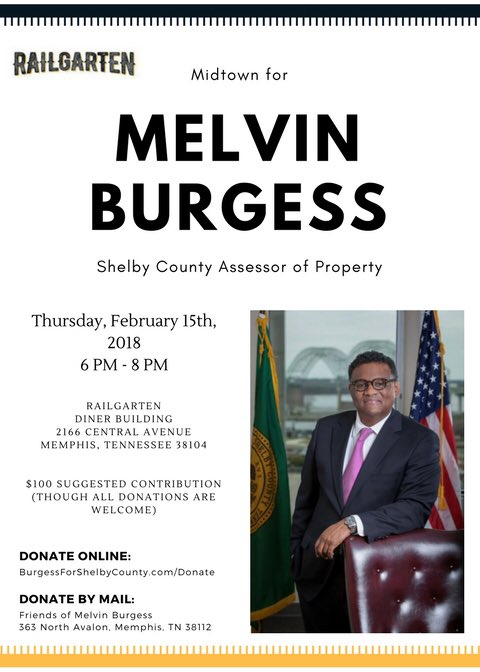 Melvin Burgess For Shelby County Assessor Burgessfor901 Twitter
