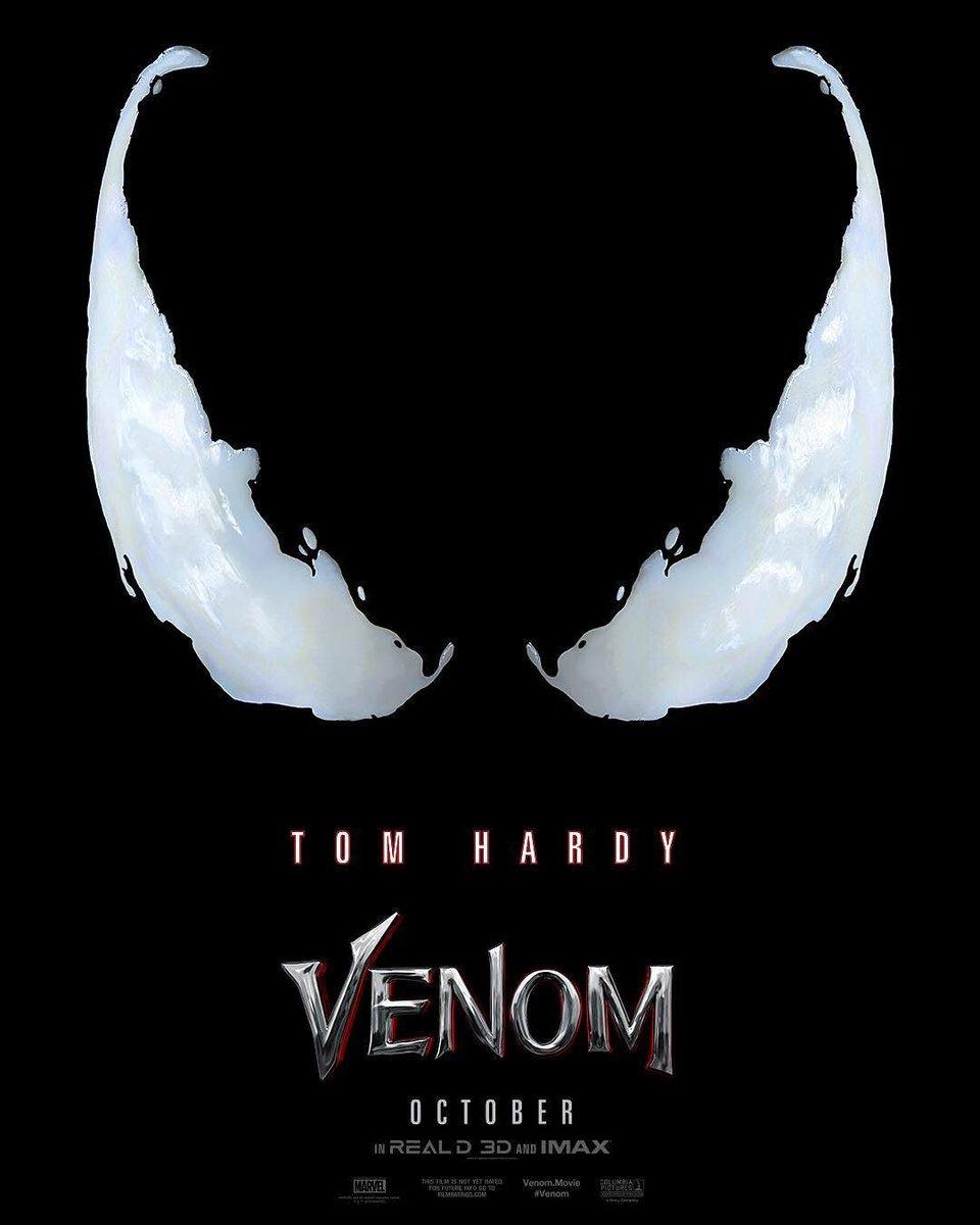 Trailer is coming tomorrow. #Venom