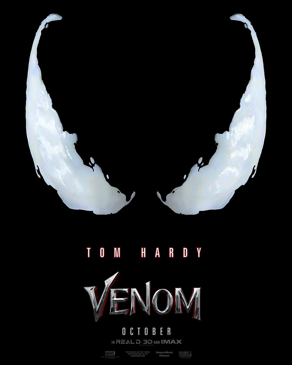 A new trailer for #Venom is dropping tomorrow