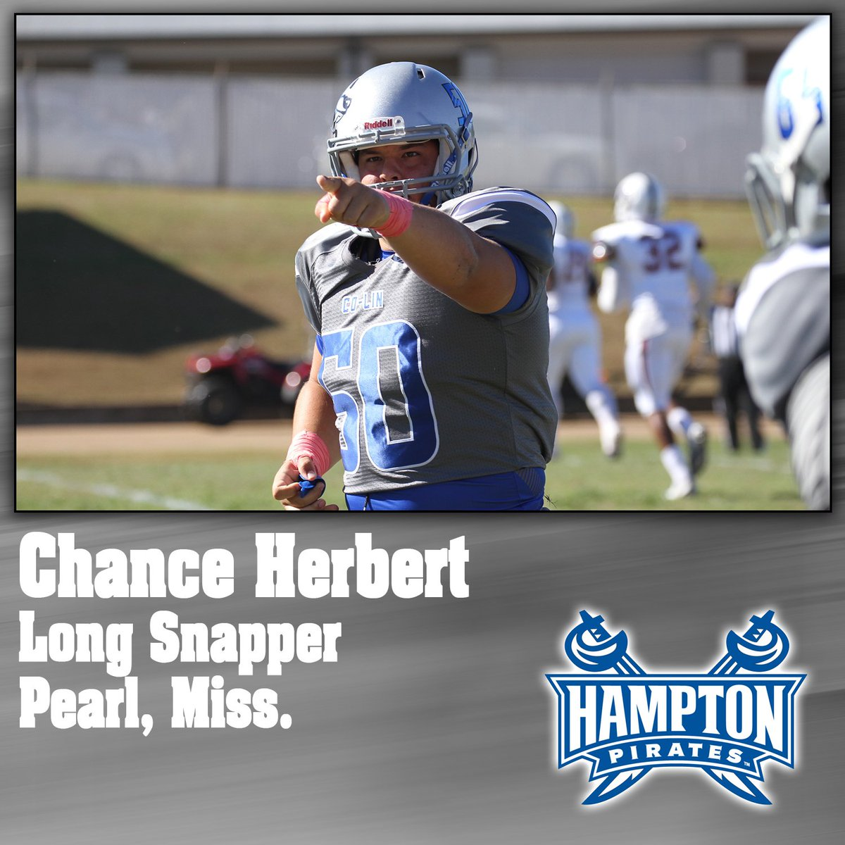 SIGNED | Congrats to Chance Herbert for signing with Hampton University!