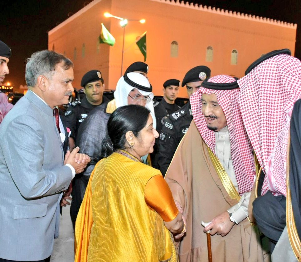EAM Sushma Swaraj thanks Saudi Prince for increasing Haj quota for Indians