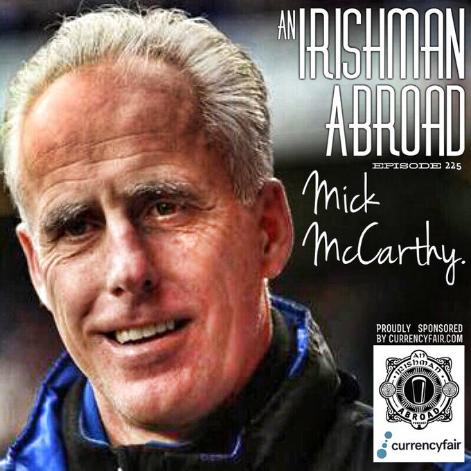 Happy Birthday Mick McCarthy. Truly one of the nice guys.