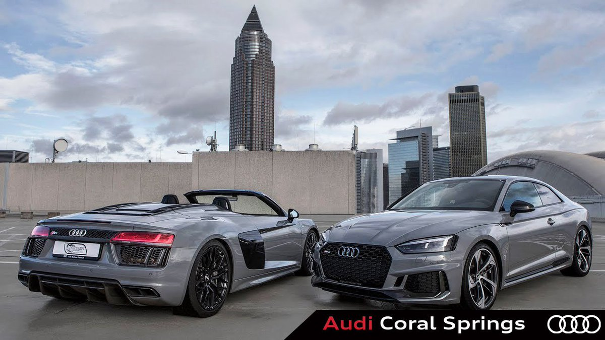 Audi Coral Springs On Twitter The Dream Duo Which One Would You - Coral springs audi