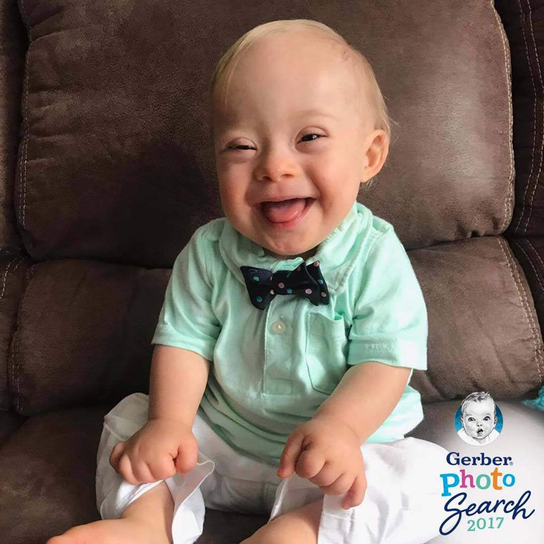 Meet Lucas, the new Gerber baby! He's the first child with Down syndrome to be given the title since the contest began more than 90 years ago https://t.co/VnZdrxEwnC