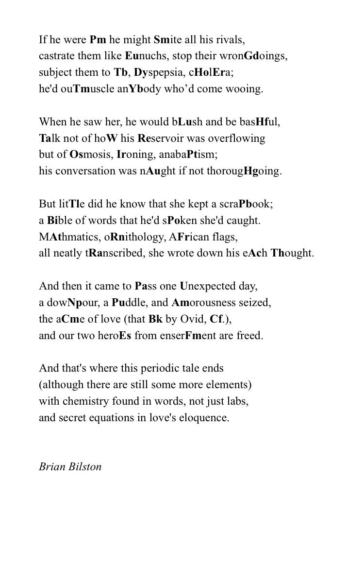 Brian bilston on twitter as its periodictableday today heres a 1150 am 7 feb 2018 urtaz Image collections