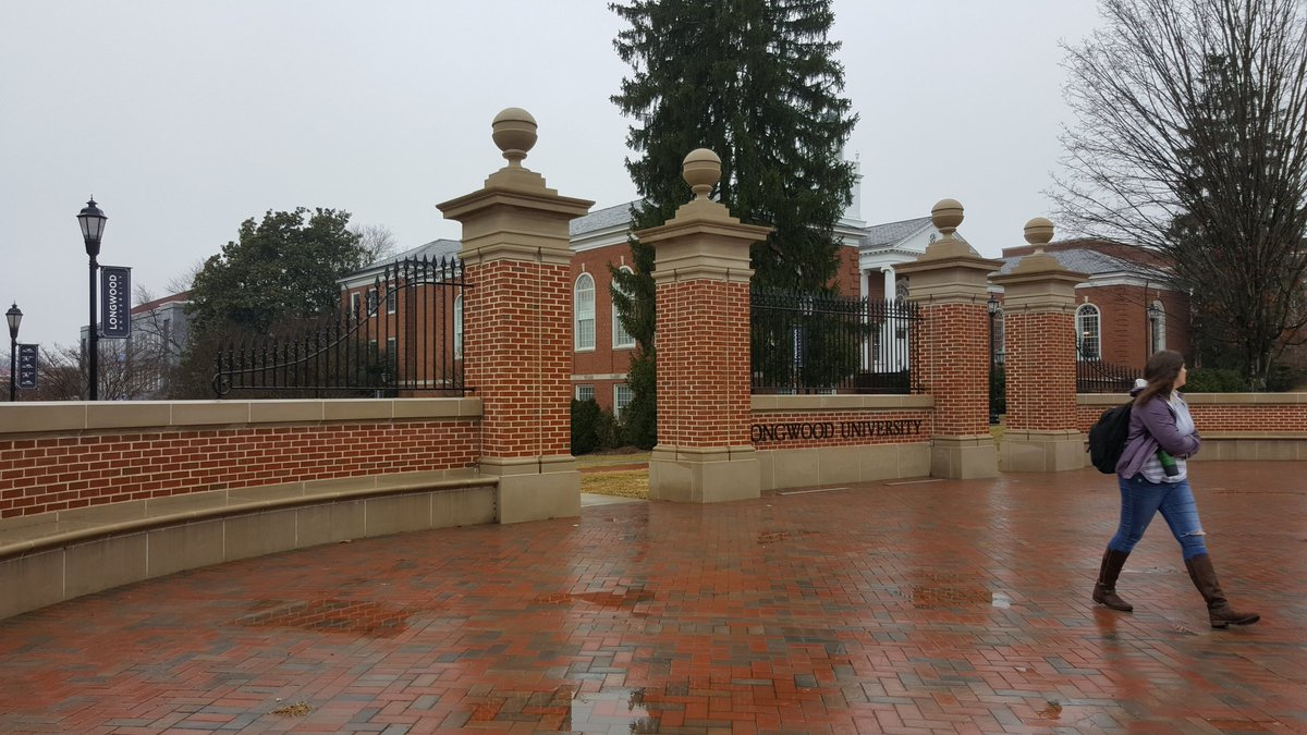 Rainy day on campus #RainyDay #LongwoodU...