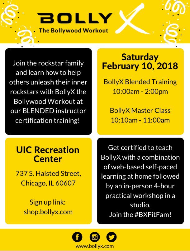 Uic Campus Rec On Twitter Dont Miss Out On The Bolly X Workout