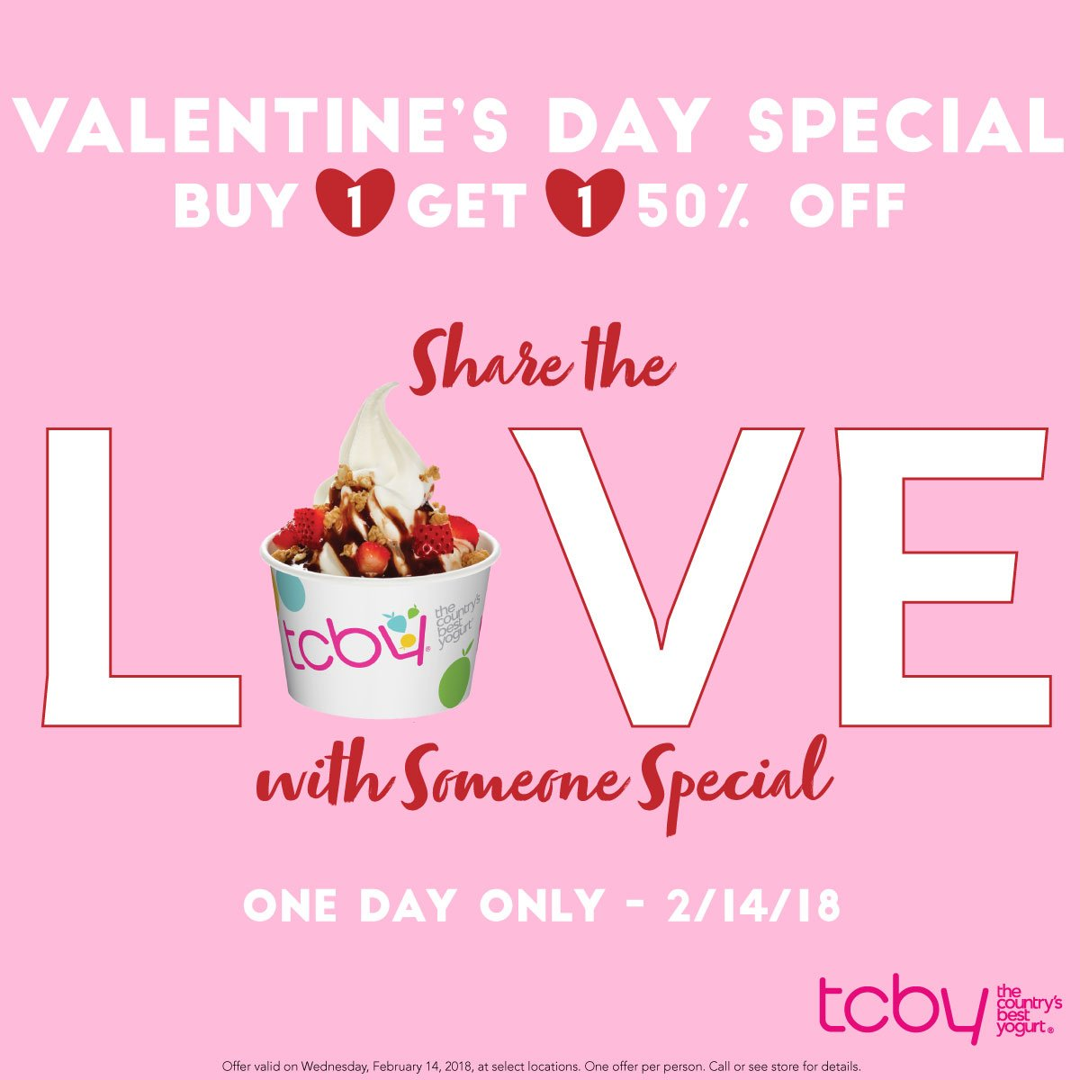 Tcby on twitter valentines day is one week away swirl in to dvdui7wu8aaelhug publicscrutiny Choice Image