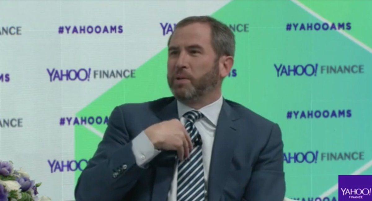LIVE: 'I think of Ripple as a payments company that uses blockchain and digital tokens to solve the problem of payments and liquidity.' -   https://t.co/V04ULvnYM3#YahooAMS