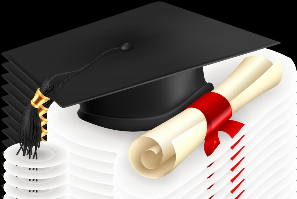 Картинка с шапкой студента