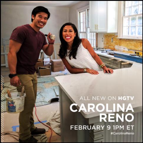 Want more of Carolina Reno? Tune into @HGTV again on Friday 2/9 at 1PM  #carolinareno @societysocial @milojoprods @SwitchbladeEnt