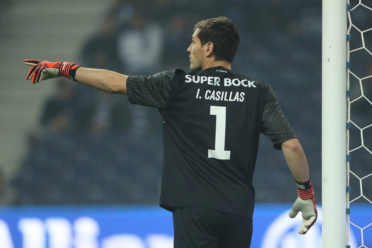 💯 @IkerCasillas realiza hoje o 100.º jogo pelo FC Porto 🔵⚪ #FCPorto #FCPSCP