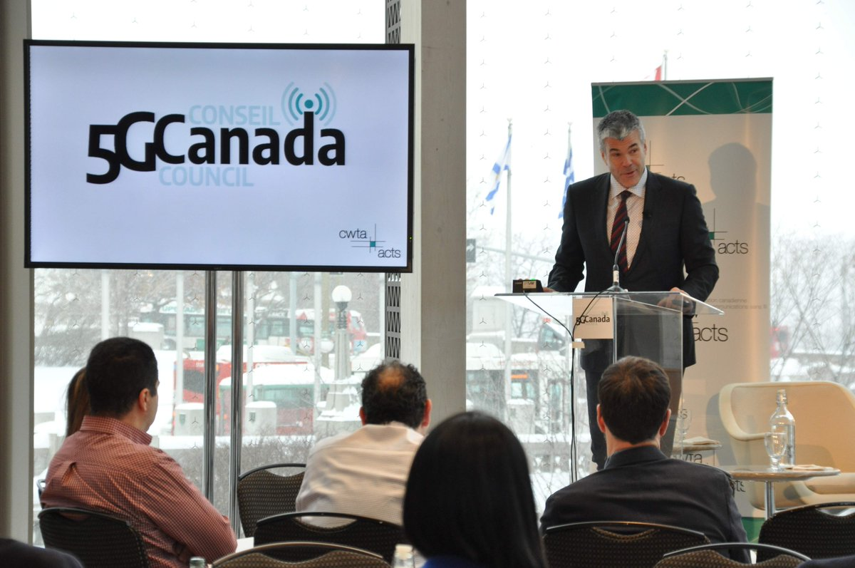 test Twitter Media - Scott Bradley, Chair of the #5GCanada Council provides closing remarks, encouraging a supportive and dynamic #5G ecosystem in Canada. #CdnWireless https://t.co/n1Ydqm41bD